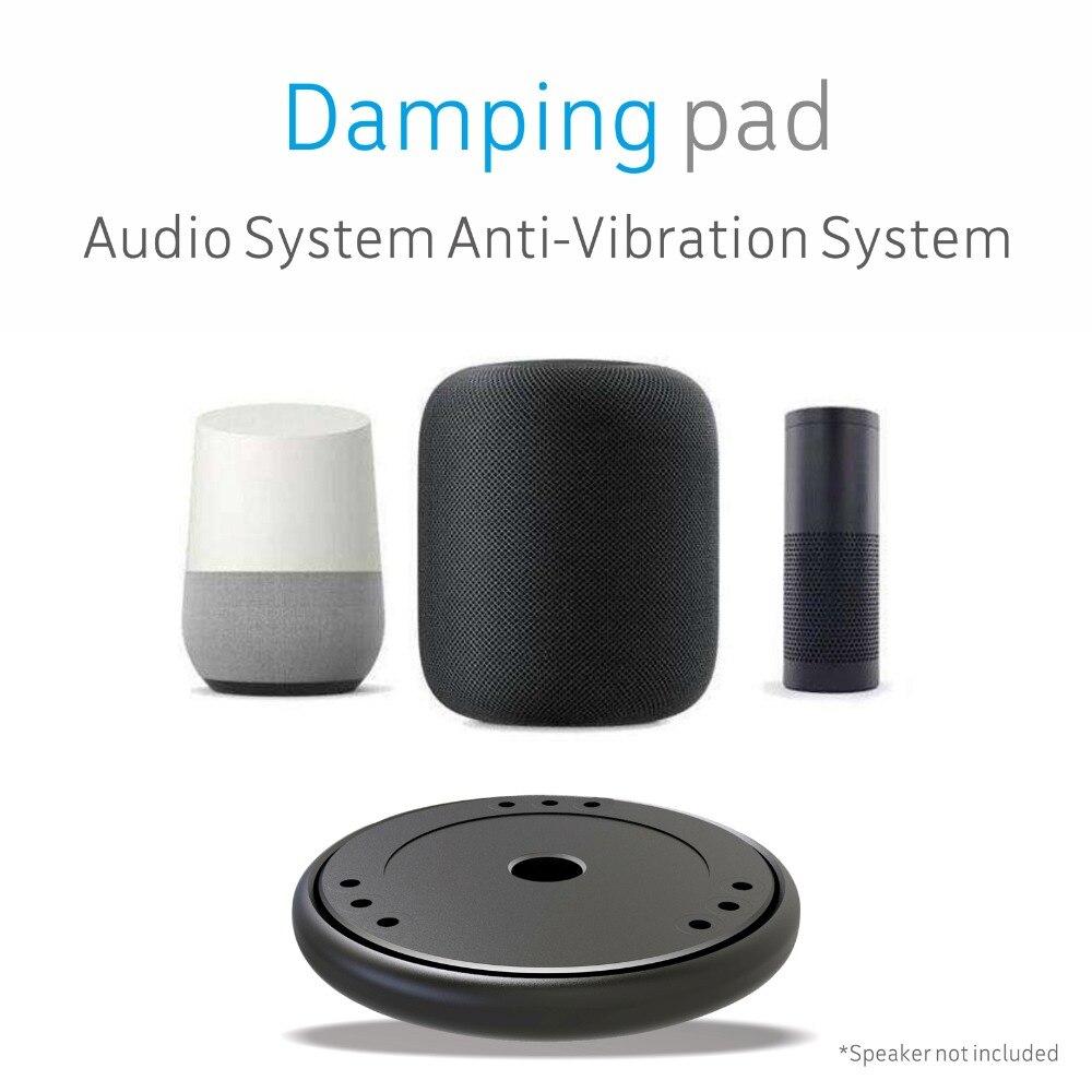 Sound Isolation Platform Damping Recoil Stabilizer Base for Apple HomePod Amazon Echo Google Home smart Speaker Riser Platform