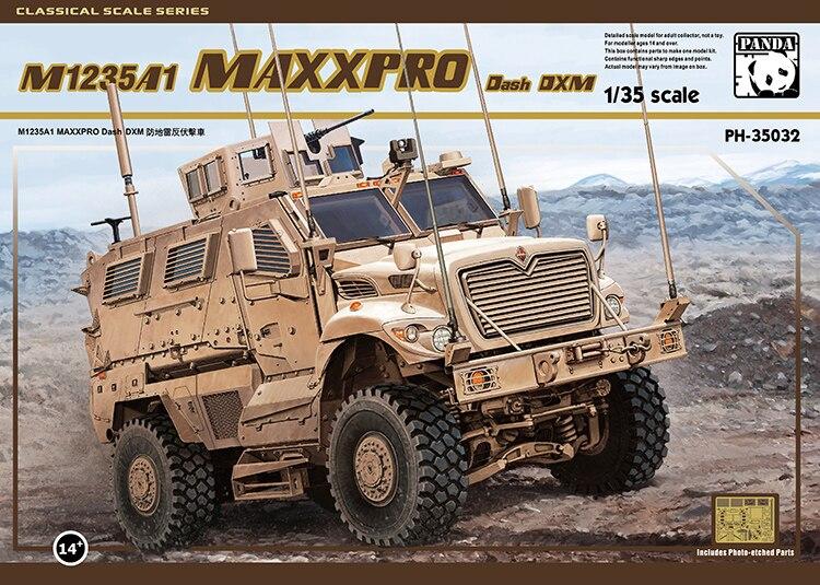 Ensamblar PH35032 1/35 Estados Unidos M1235A1 DXM Anti-mine Anti-ambush kits de modelos de coche