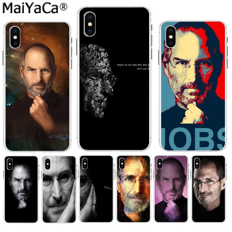 Maiyaca inspirador citação steve jobs à venda de luxo legal telefone acessórios caso para iphone 8 7 6 s plus x xs max 10 5 5S se xr