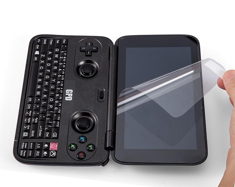 Película protectora original para GPD Win 3 unidades para GPD Win z8750 pantalla protectora