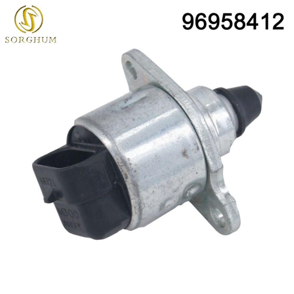 Original 96966721 Válvula de Control de aire en reposo se adapta para Chevrolet Spark M300 DL745D 1,0 de 96966710 de 96958412