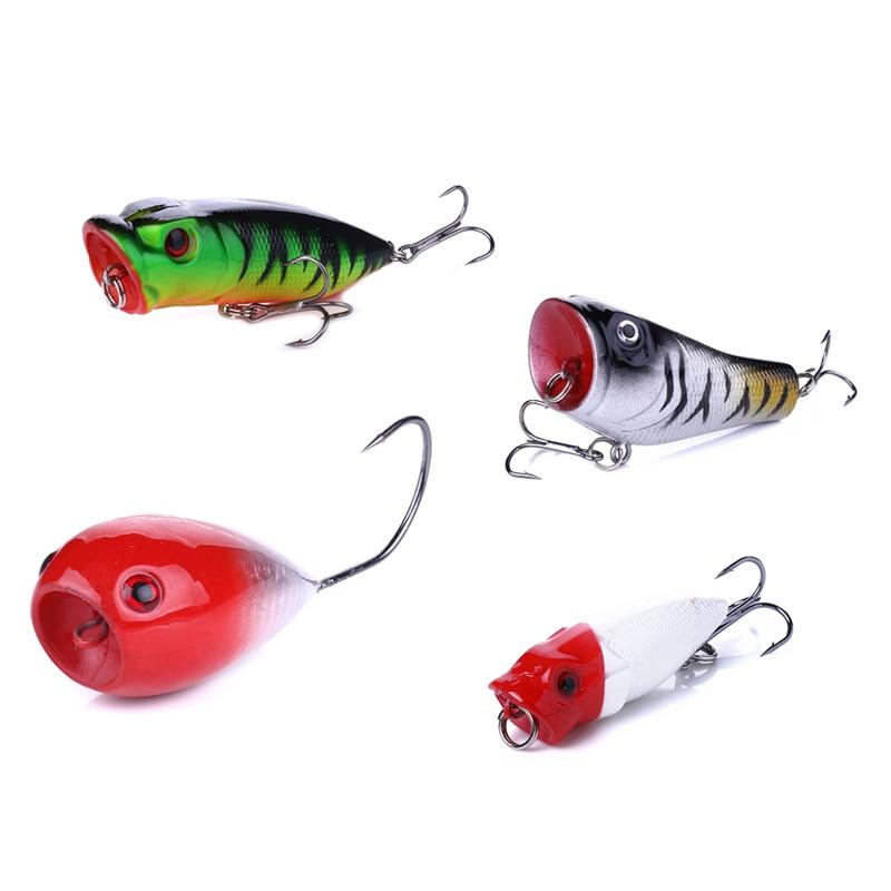 Купить с кэшбэком 23pcs/lot wobblers Popper sea Fishing lure set fish gear croatian egg single hook mini artificial Hard Fake bait 2.5g 7g 13g 11g