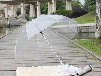 "40 pcs 34 ""Big Limpar Bolha Bonito Profunda Dome Umbrella Gossip Girl Resistência Ao Vento SN592"