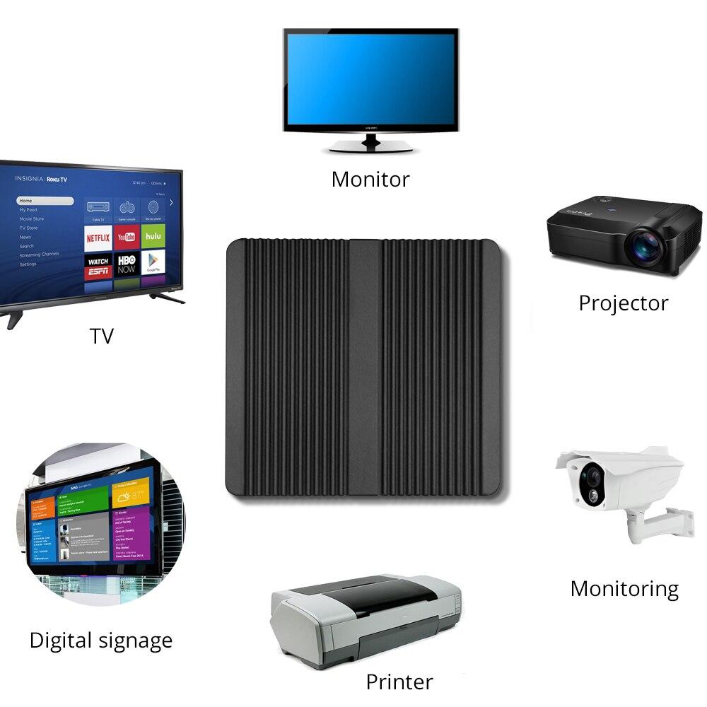 XCY Mini PC Intel Core i3 4005U i5 4200U Dual Gigabit Ethernet Fanless Industrial Computer 4*USB 2*RS232 HDMI VGA WiFi enlarge