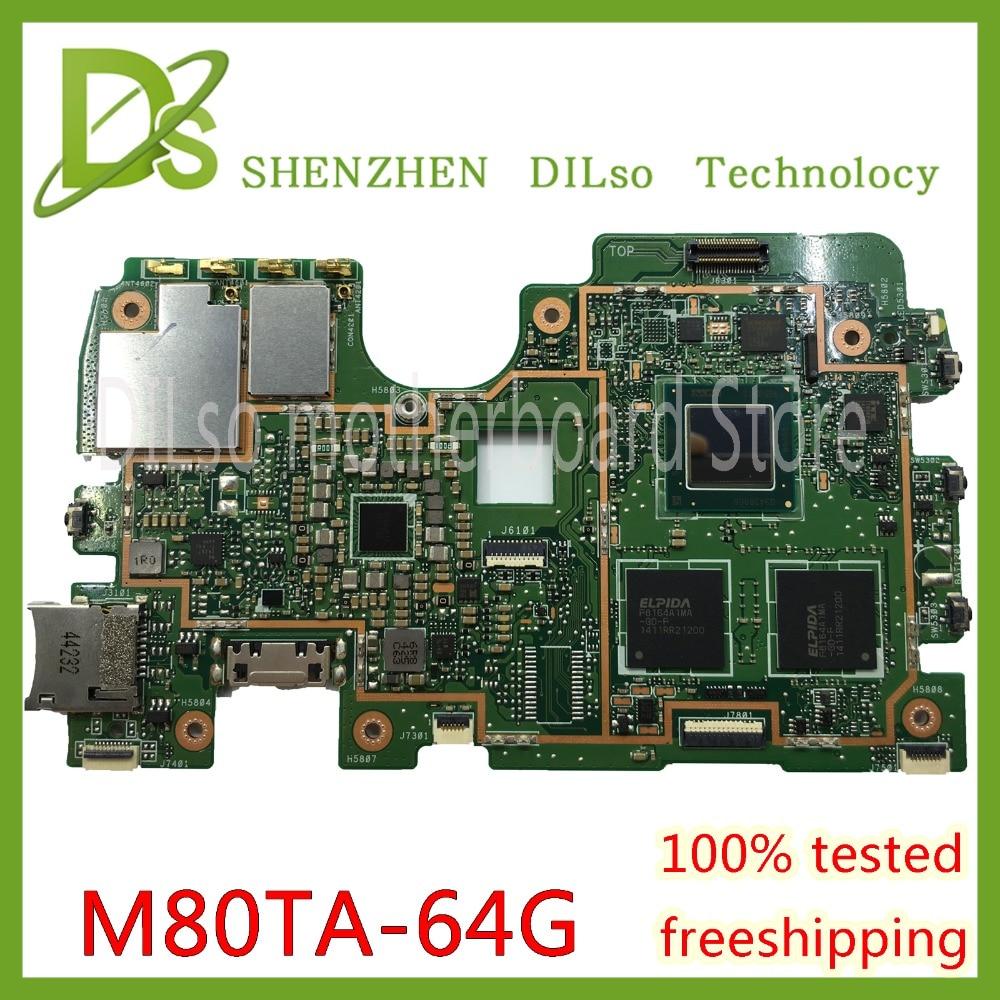 Kefu m80ta para asus m80ta rev2.1 tablet placa-mãe 2g memória cpu 64g ssdtest z3740 original