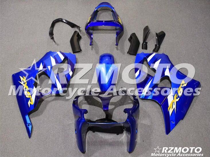 ¡Nuevo! Kit de carenado de motocicleta ABS para Kawasaki Ninja ZX6R 636 2000 2001 2002, molde de inyección de carrocería, tienda de ACEKITS azules No.0040