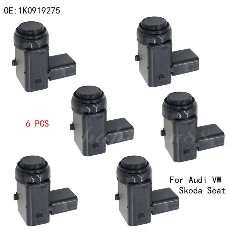 Oem sensor 6 conjunto vw phaeton para estacionamento touran 1k0919275 3d0998275a touareg pdc