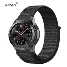 Bande en Nylon de boucle de 22mm 20mm pour la montre de galaxie de Samsung 46mm/42mm/courroie active de 40mm pour la vitesse S3/S2/bandes Amazfit de sport/Huami
