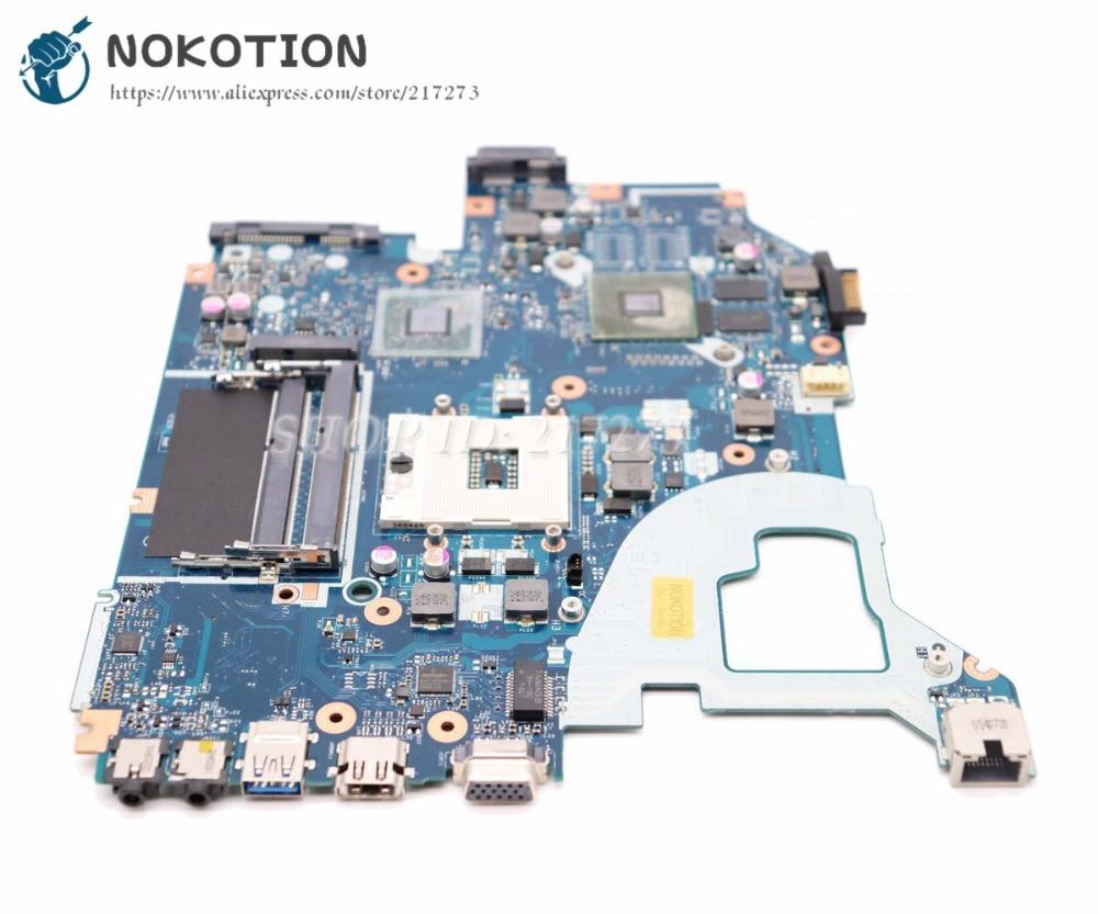 NOKOTION V3-571G Q5WVH LA-7912P Para Acer aspire E1-571G Laptop Motherboard NBY1711001 NB. Y1711.001 GT620M HM77 DDR3 1 GB GPU