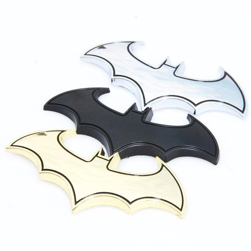 Adesivos Bat Batman Emblema Decalques Decoração estilo do carro para Nissan Qashqai Vampira Sentra Skyline Stagea Crossover Ensolarado Safari