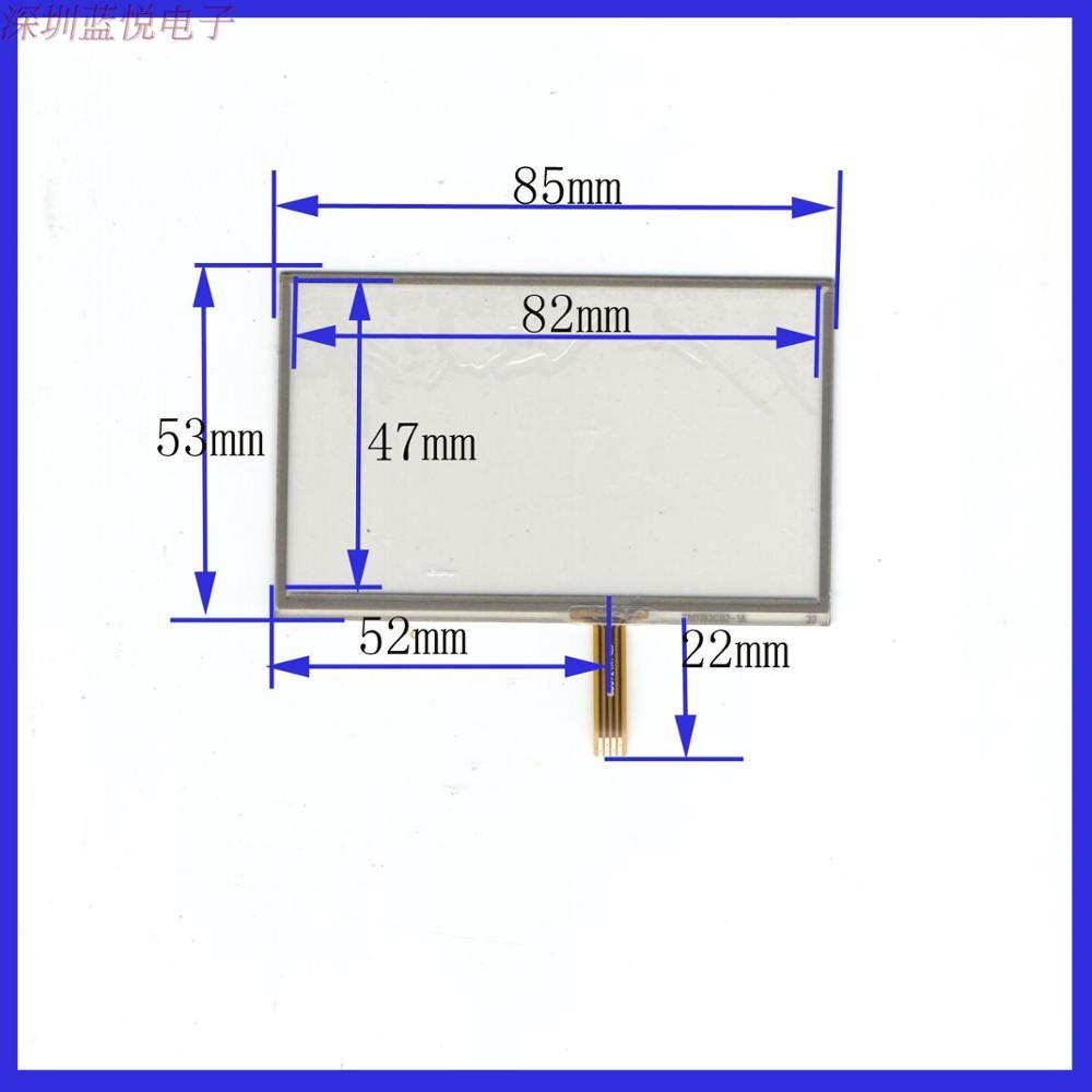 3.5 inches 85mm*53mm touch handwritten screen, four wire resistor screen, 85*53 PDA digital versatile