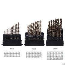 DANIU M42 HSS jeu de forets hélicoïdaux tête de 3 bords 8% haute foret de Cobalt pour acier inoxydable bois métal forage Durable