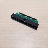 10pcslot 3 5 to 2 5 desktop hard drive adapter card riser ide 40pin to 44 pin