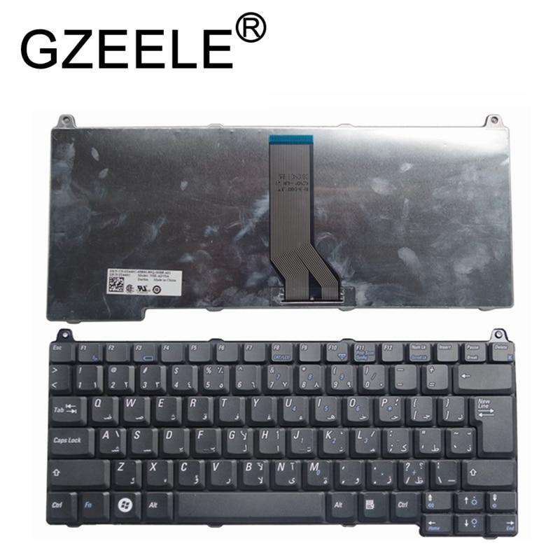 GZEELE nuevo árabe AR teclado del ordenador portátil para Dell 1310, 1320, 1350, 1510, 2510 M1310 M1510 1520 V1310 V1510 V1318 teclado negro