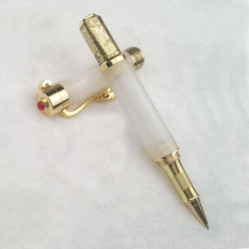 Pure Jade Gel Pen Birthday Gift Business Writing Pen