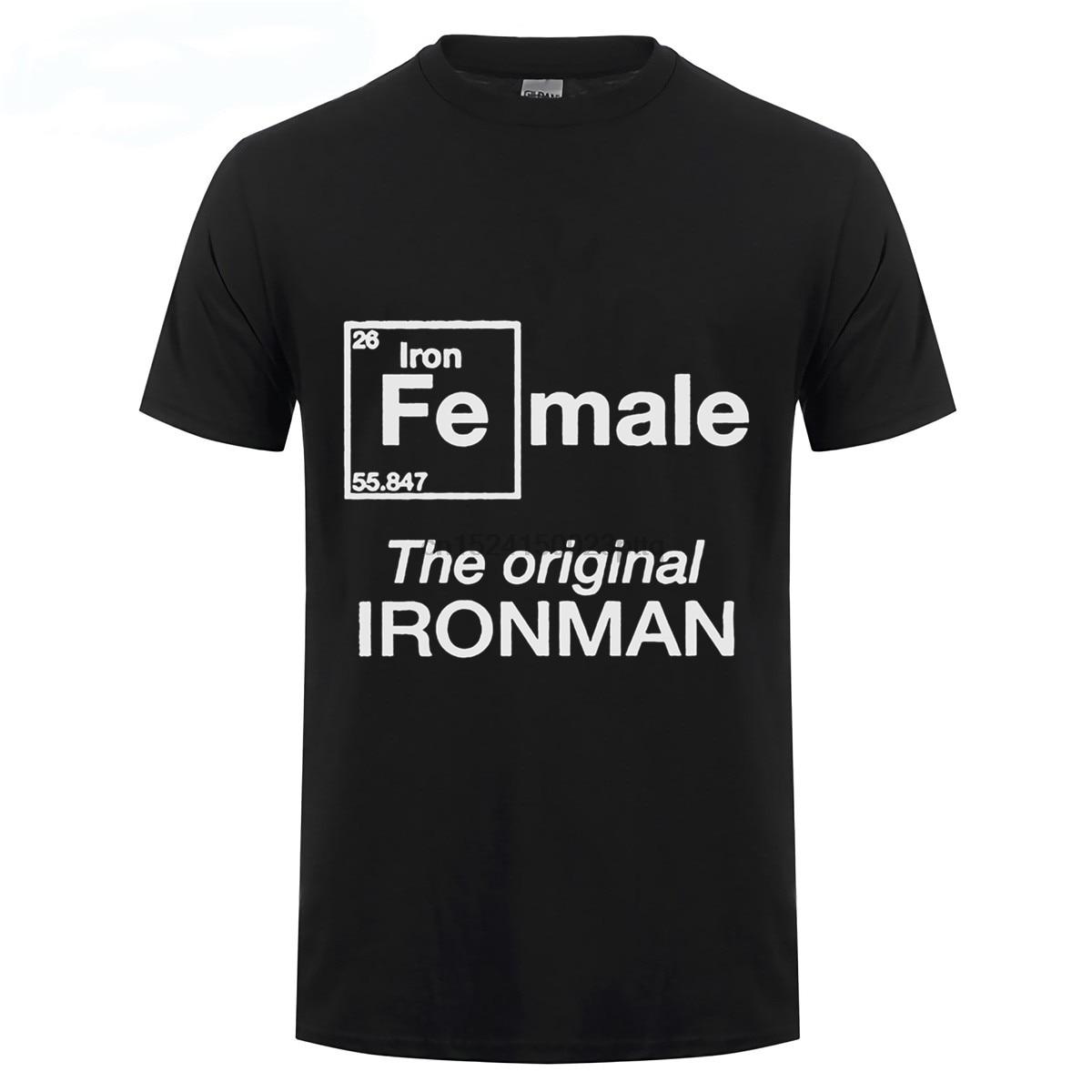Camiseta de mujer The Original Ironman PARA EL Iron Women Triathlete inspiradora para el triatlón Achievers en hombres