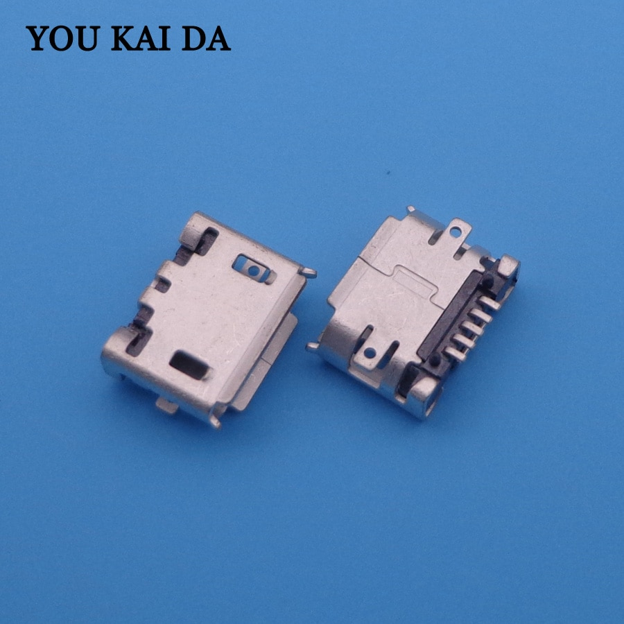 1000 шт./лот Новинка SMD feet 5p Micro usb Jack Разъем для зарядки для Sony Ericsson X10 X8 E10 E15 E16 J108 W100 phone