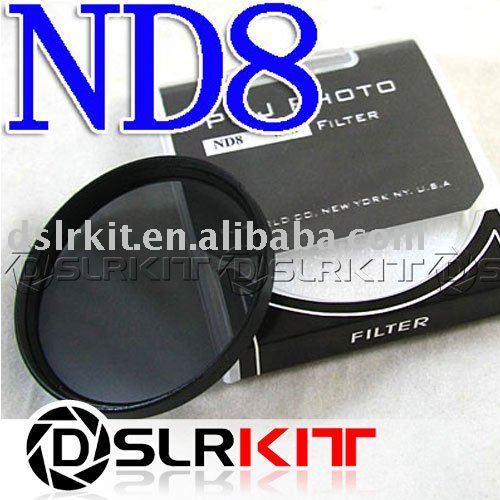 TIANYA 37mm 37mm de densidad neutra ND 8 ND8 filtro