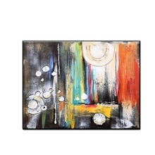 Arte Abstracto grande 100% pintura al óleo pintada a mano arte colorido arte tallado pinturas lienzo pared arte sin marco envío gratis