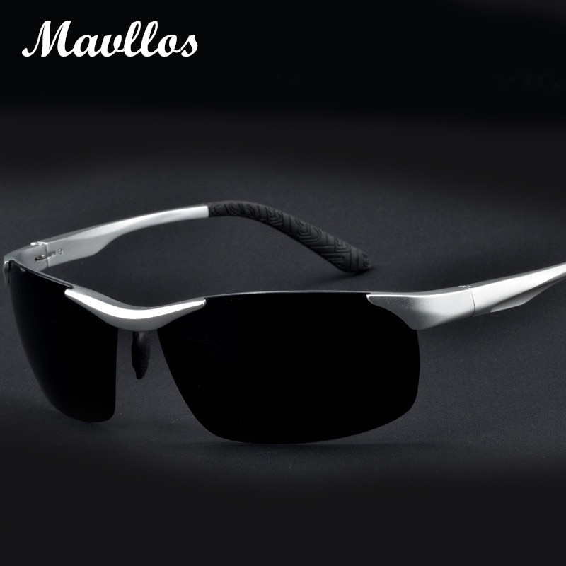 Mavllos  men polarized sunglasses Aluminum Magnesium sun glasses fishing outdoors  sport  Eyewear For Men