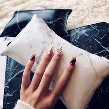 Marbre motif ongle doux main coussin oreiller & Nail Art bras repose-bras coussin repos manucure coussin oreiller Nail Art accessoires