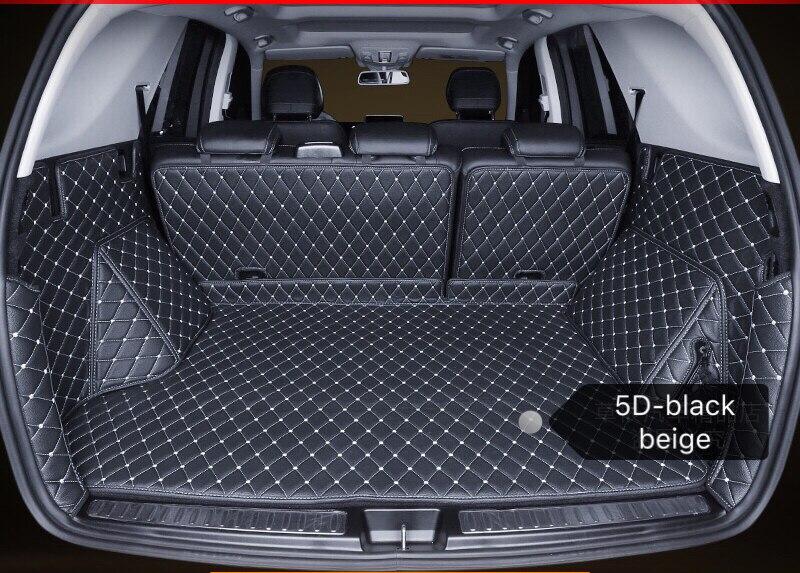 De cuero estera de maletero de coche de carga alfombra para Audi A1 A3 A4 A5 A6 A8 Q3 Q5 Q7 TT RS ajuste personalizado