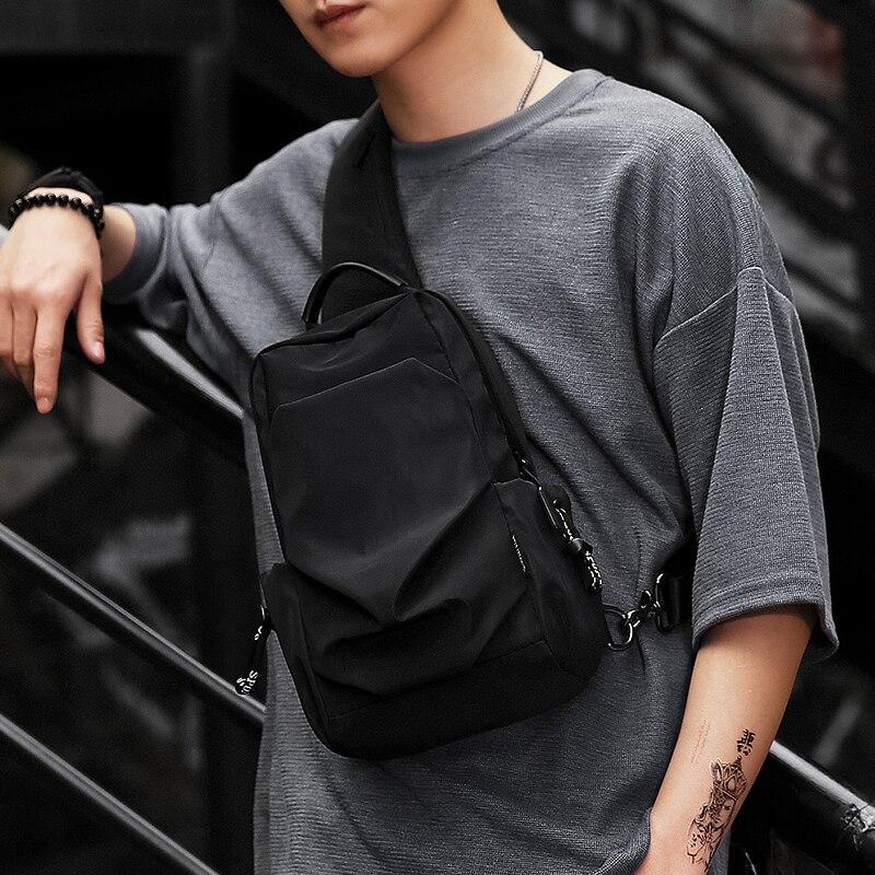 Мужская сумка на репеллент, черная, 5036