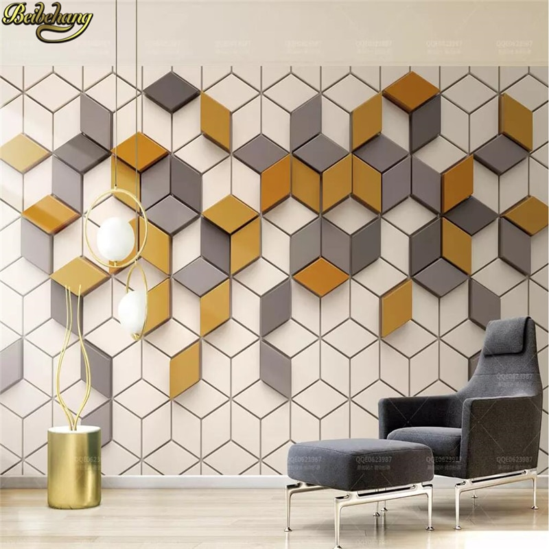 beibehang custom european damascus wallpapers for living room photo mural wall papers home decor 3d wallpaper for bedroom walls beibehang custom Yellow mosaic Mural Living Room Office Wallpaper for wall papers home decor 3D photo wallpapers for living room
