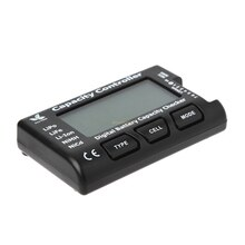 2018 Digital Battery Capacity Checker RC CellMeter 7 For LiPo LiFe Li-ion NiMH Nicd JUL27_32