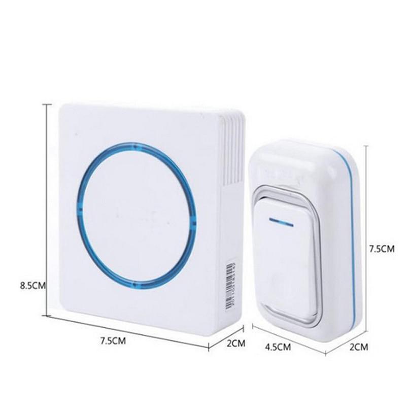8pcs/lot door ring Waterproof 260M Long-range wireless doorbell,wireless door chime,wireless bell,door bell,48 melodies&16 chord