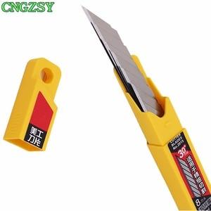 Image 5 - 1 шт., нож CNGZSY для канцелярских товаров, лезвия для школы, бумаги, графики, офиса, сделай сам, резак для автомобильной пленки, виниловая резка E02 + 5E03