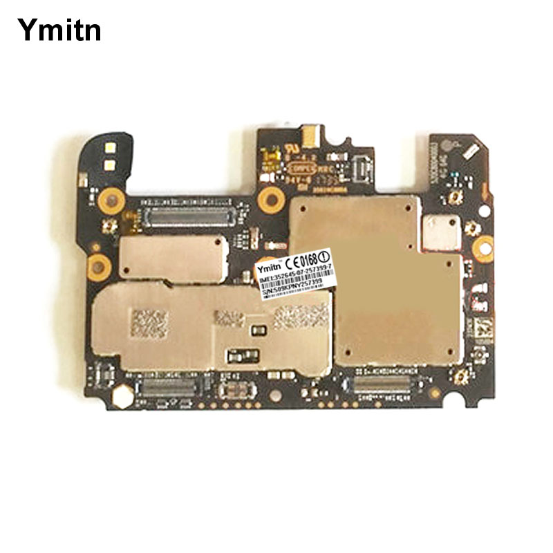Ymitn مقفلة اللوحة الإلكترونية اللوحة الرئيسية اللوحة مع رقائق الدوائر الكابلات المرنة ل شاومي نوت 3 نوت 3 Globle ROM