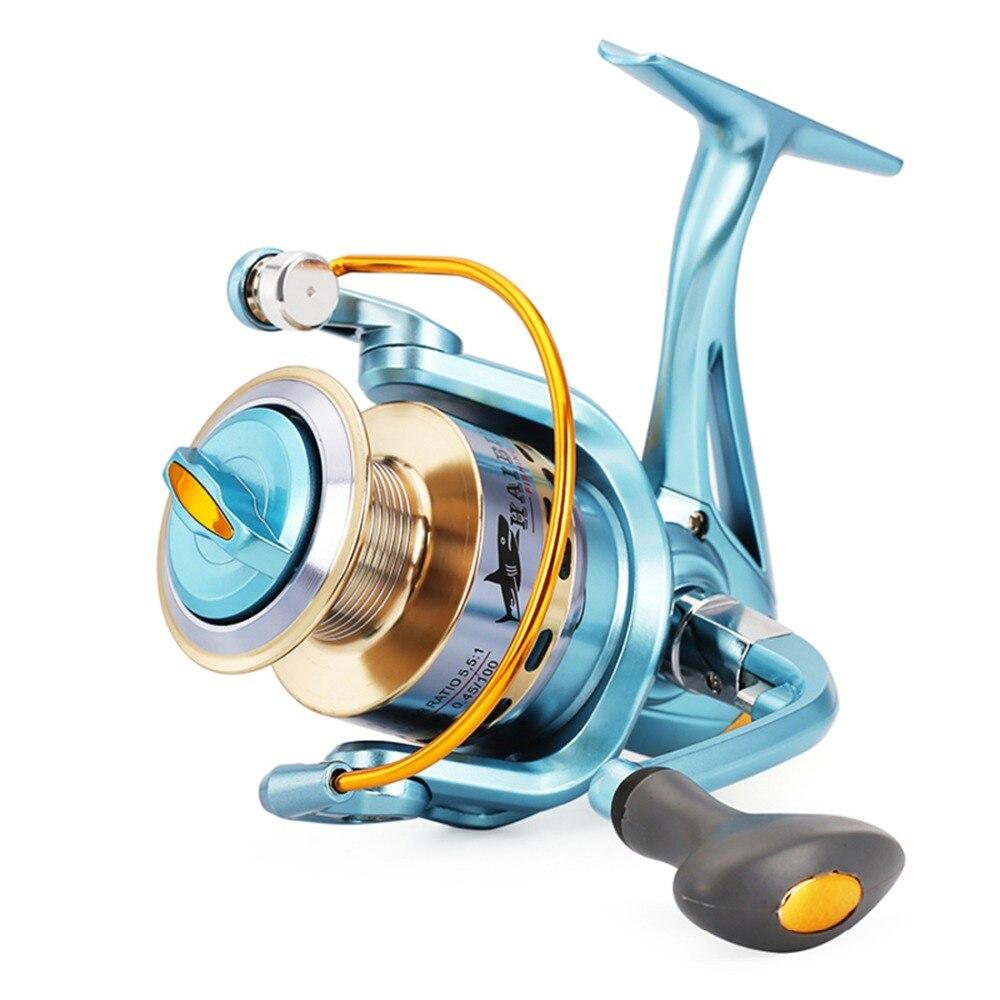 Carrete giratorio TriPoseidon AF 3000, 12BB 5,5 Max Drag 5,5 1, carrete de pesca de agua dulce, carrete de aluminio para cerrar