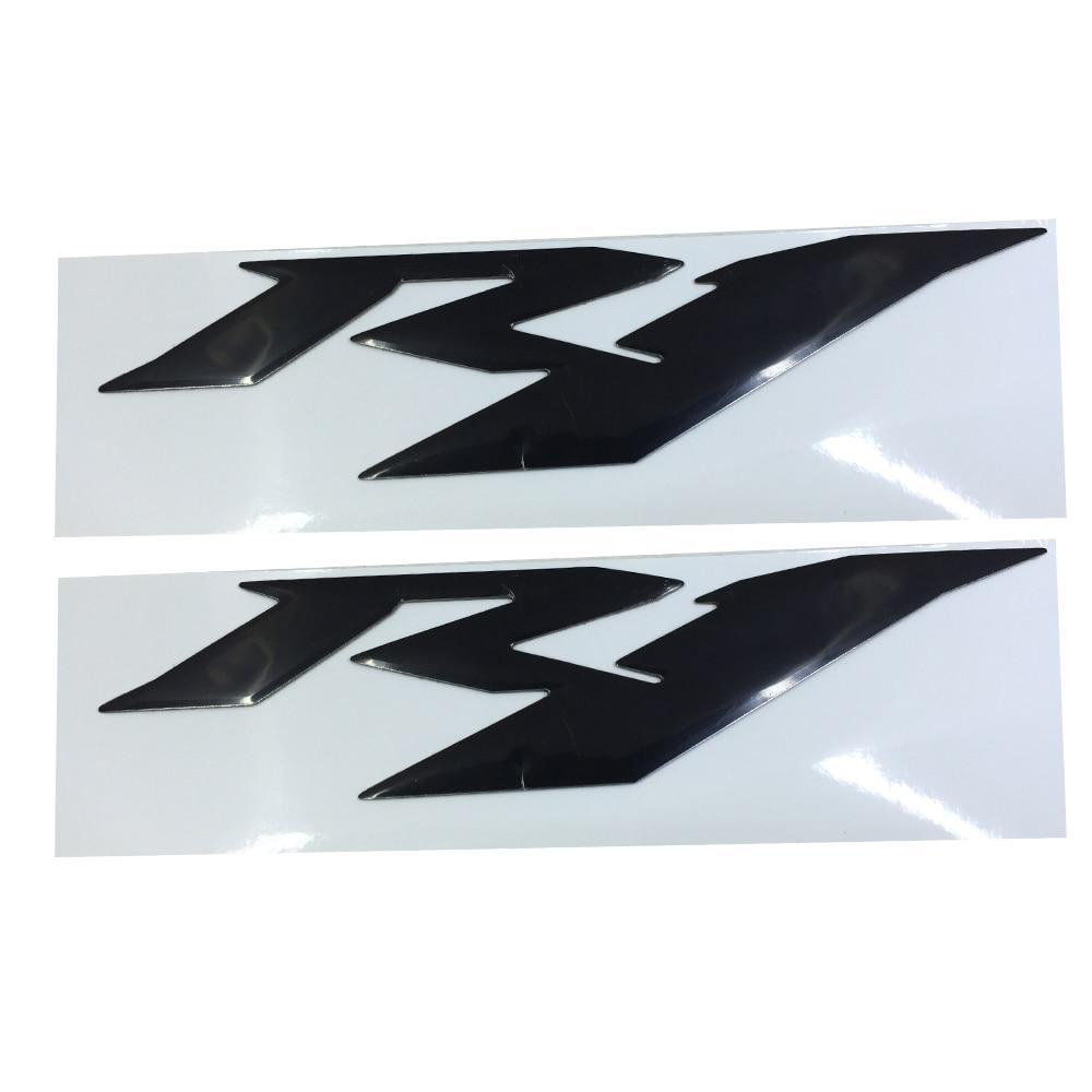Черный мотоцикл эмблема значок наклейка 3D Танк колесо логотип для YAMAHA YZF1000 R1 наклейка