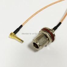 3G антенный кабель N гнездовой разъем к MS156 правый угол разъем RG316 кабель Pigtail 15 см 6 дюймов адаптер RF джемпер