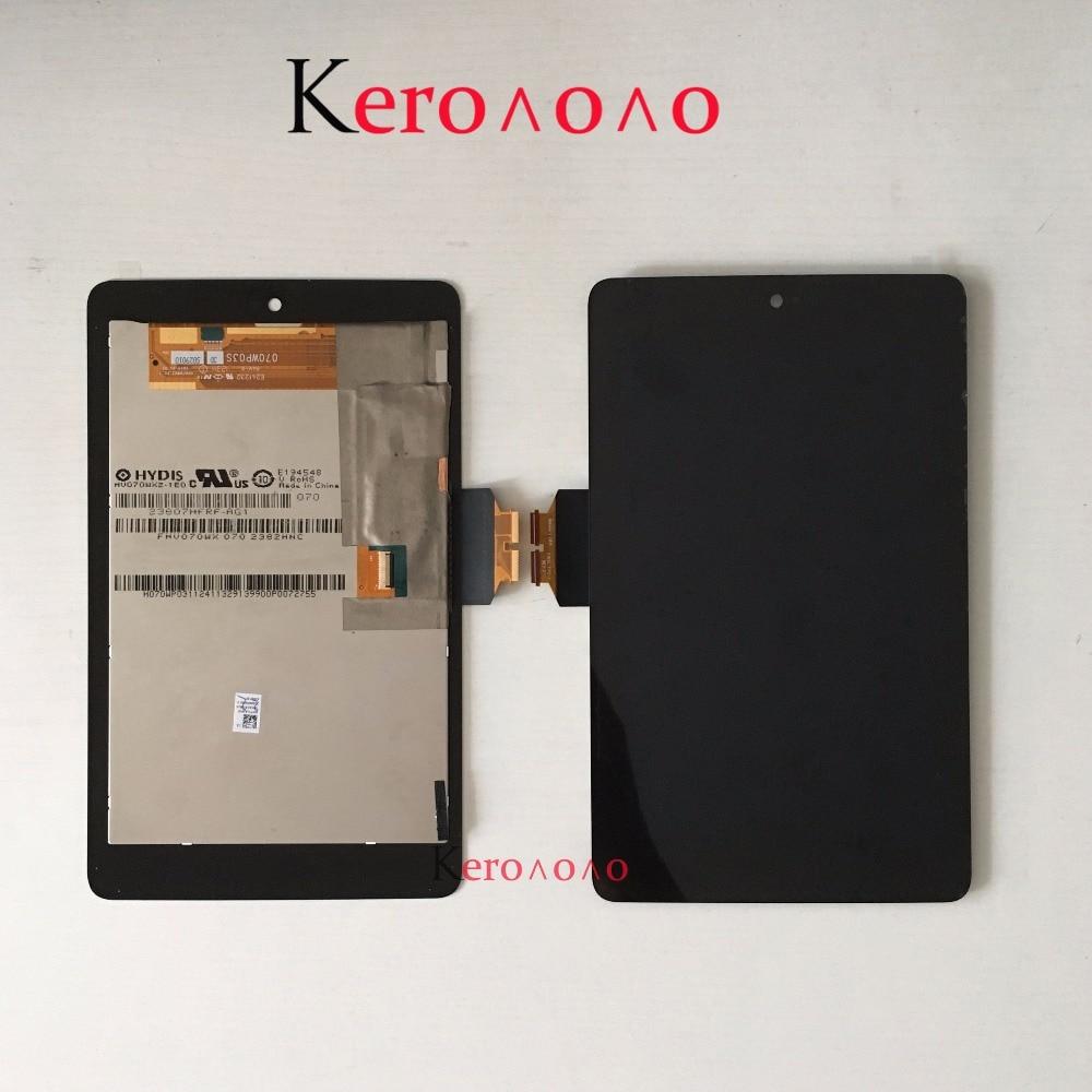 Pantalla LCD + pantalla táctil digitalizadora para Google nexus 7 1st Gen nexus 7 2012 ME370 ME370T ME370TG