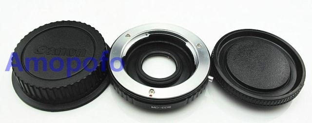Amopofo MD-EF адаптер для оптического стекла, для объектива Minolta MD MC для Canon EOS EF Mount Adapter Ring w. Стеклянный фокус для Infin