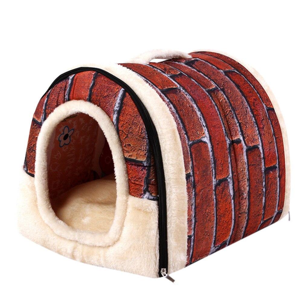 Домашние теплые мягкие постельные принадлежности для собак, кошек, домашних животных, корзины для Igloo, моющиеся, уютные, Animaux de Compagnie Chien