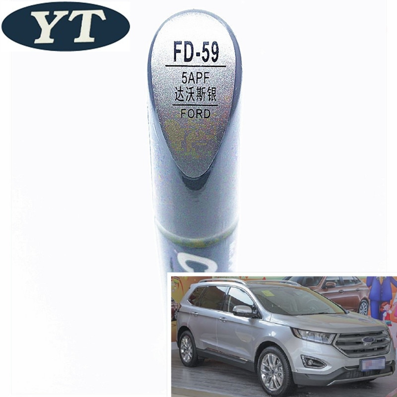 Авторучка для ремонта автомобиля авторучка серебристого цвета Ford ecosport kuga focus s max