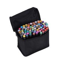 Touchnew 168 ensemble de couleurs artiste double tête croquis marqueurs ensemble pour fournitures scolaires écologiques marqueur stylo Design marqueur