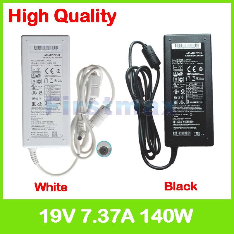 19 V 7.37A 140 W LCAP31 ac الطاقة محول شاحن ل LG V220 V325 V720 V960 XPION 29V940 جميع- في واحد pc