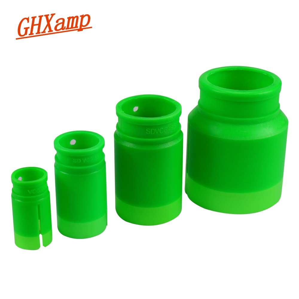 GHXAMP 25,5 мм 35,5 мм низкочастотный динамик с басами звуковая катушка позиционирования манометр 49,5 мм 51,5 мм 65,5 мм 75,5 мм Бас Звуковая катушка запасные части 1 шт.