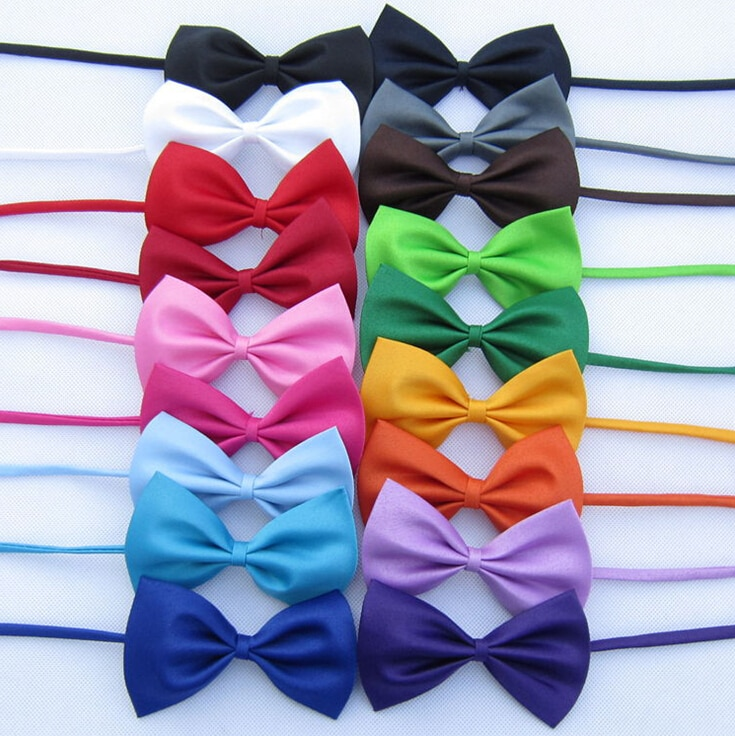 1 piece Adjustable Dog Cat bow tie neck tie pet dog bow tie puppy bows pet bow tie  different colors supply недорого