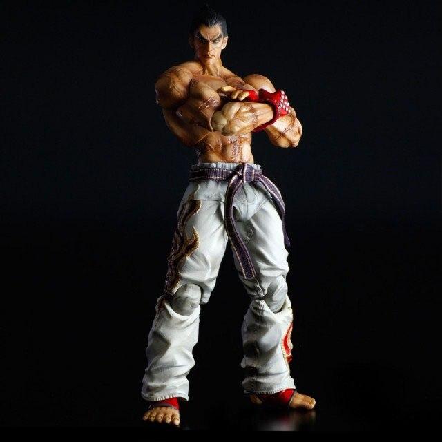 Tekken Tag torneo 2 juegos Kai Kazuya Mishima PVC figura de juguete de modelos coleccionables 25cm