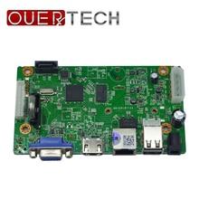 Ouertech p2p 8ch h.265 4mp/5mp nvr ip gravador de vídeo cctv nvr placa hi3516d 2 usb onvif rede de vigilância nvr