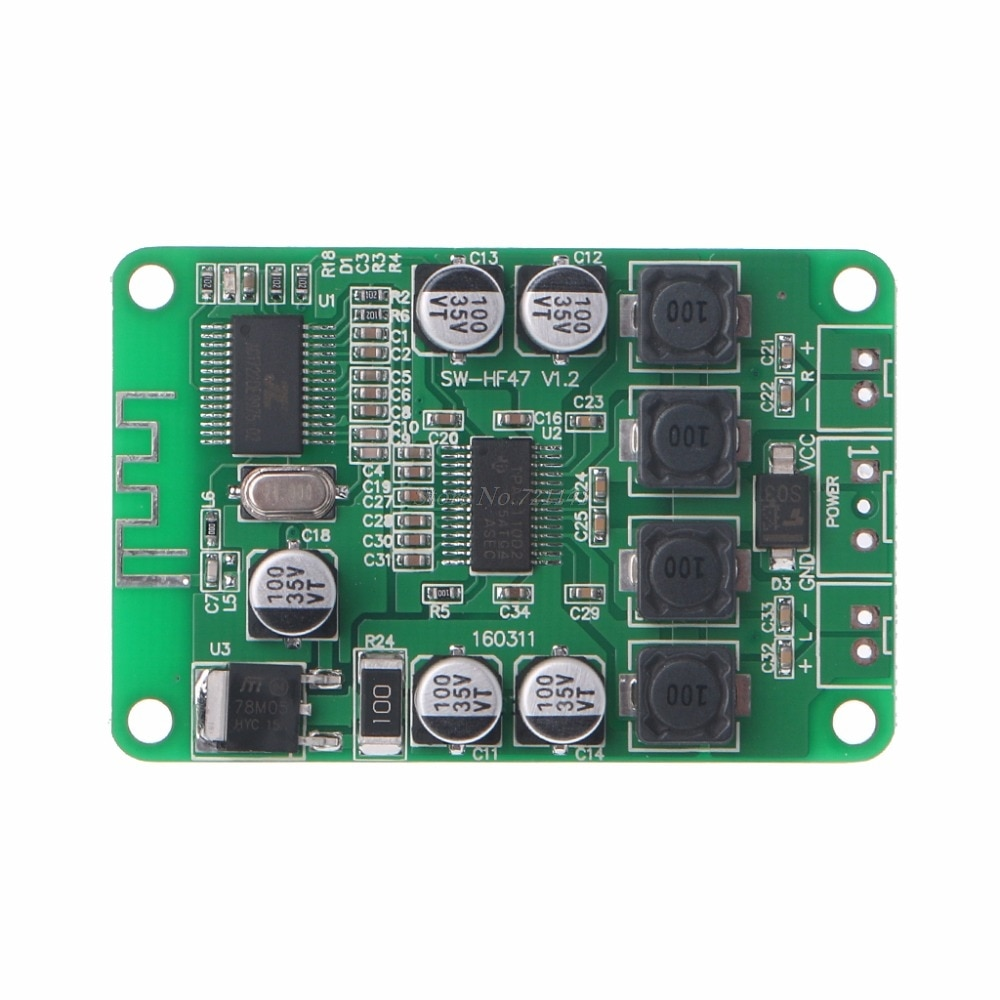 TPA3110 2X15W цифровой стерео Bluetooth аудио усилитель мощности плата для Bluetooth динамик усилитель доска Прямая поставка
