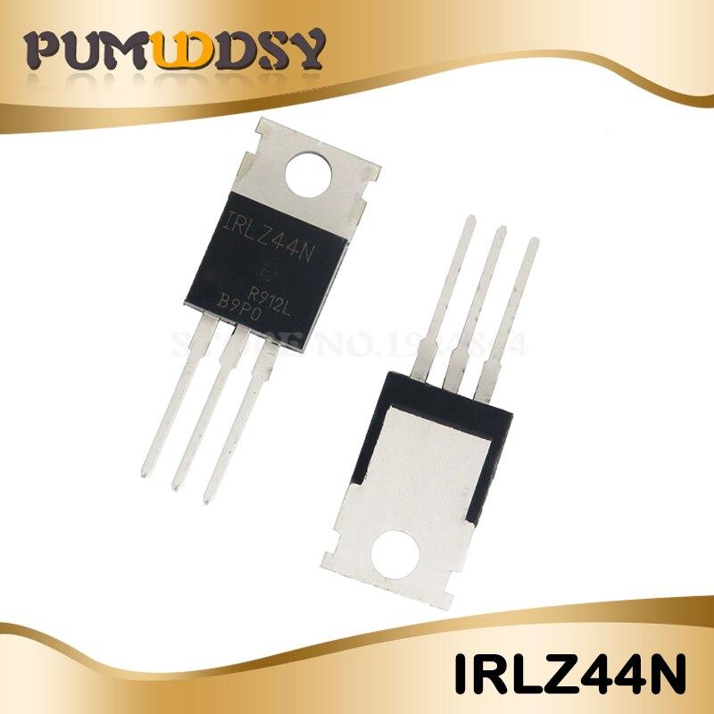 100Pcs IRLZ44N MOSFET N-CH 55V 47A TO-220AB New IC