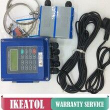 Débitmètre à ultrasons TUF-2000B-TL-1 (DN300-6000mm) avec capteur de chaleur PT-100 (CT-1)