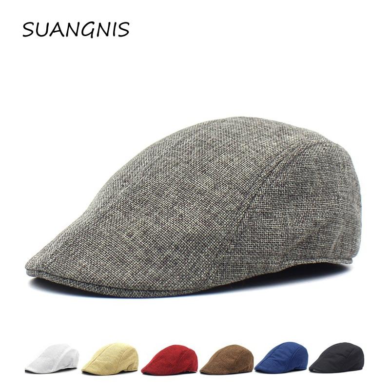 2019 Men Summer Visor Hat Sunhat Mesh Running Sport Casual Breathable Beret Flat Cap Vintage Hats For Women Sun Hat Octagonal
