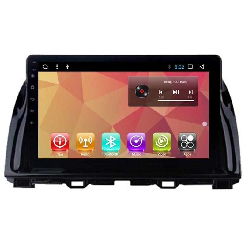 """10.1 """"Android samochodowy multimedialny Stereo nawigacja GPS DVD Radio Audio nawigacji satelitarnej jednostka główna dla Mazda CX5 CX-5 2012 2013 2014 2015"""